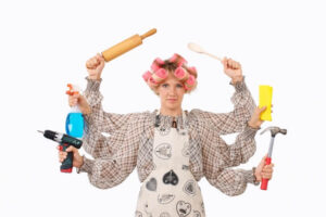 シングルマザーが上手に家事を手抜きする方法!料理洗濯掃除の時短テク